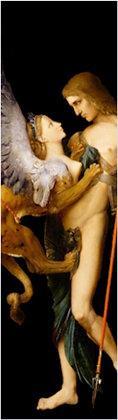 Marque-page - Œdipe et le sphinx