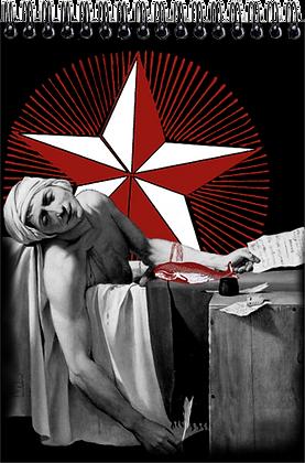 Carnet de dessins - Mort de Marat