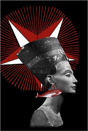 Carte postale - Néfertiti