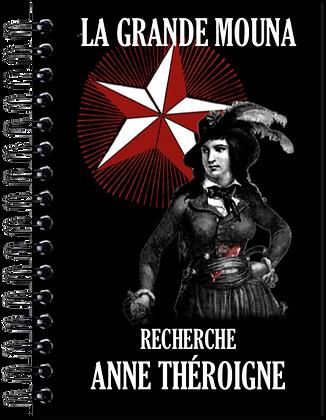 Carnet de notes - Anne Théroigne