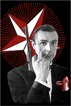 Carte postale - James Bond