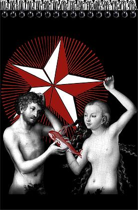 Carnet de dessins - Adam et Eve