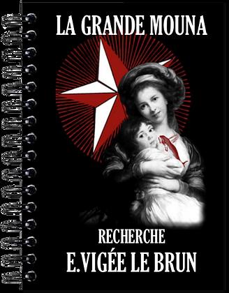 Carnet de notes - Elisabeth Vigée Le Brun