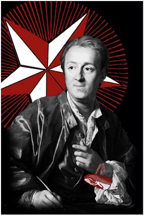 Carte postale - Denis Diderot