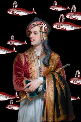 Carte postale - Lord Byron