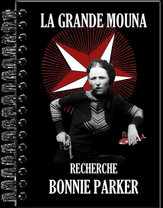 Carnet de notes - Bonnie Parker