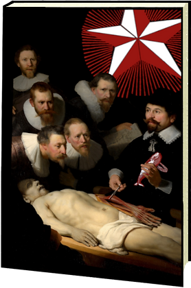 Carnet relié - La leçon d'anatomie