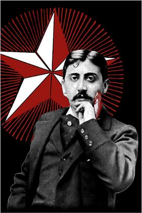 Carte postale - Marcel Proust