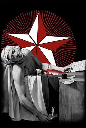 Carte postale - Mort de Marat