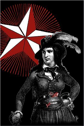 Carte postale - Anne Théroigne