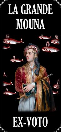 Autocollant - Lord Byron