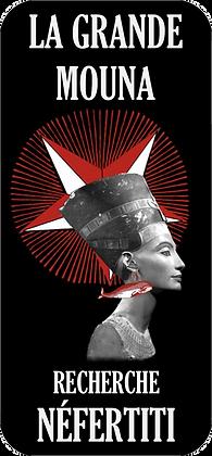 Autocollant - Néfertiti