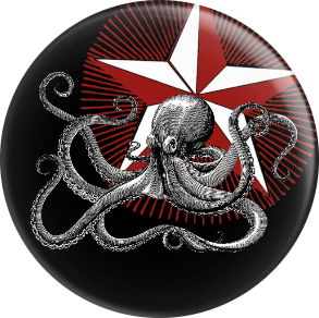 Badge - Octopus
