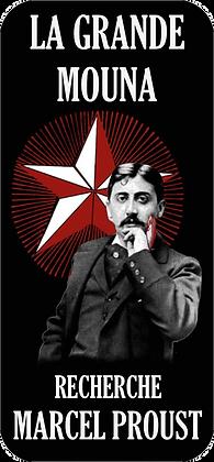 Autocollant - Marcel Proust