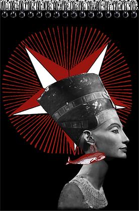Carnet de dessins - Néfertiti