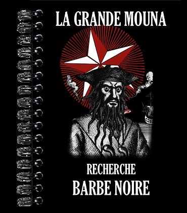 Carnet de notes - Barbe noire