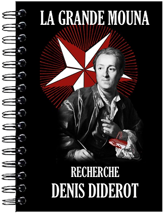 Carnet de notes - Denis Diderot