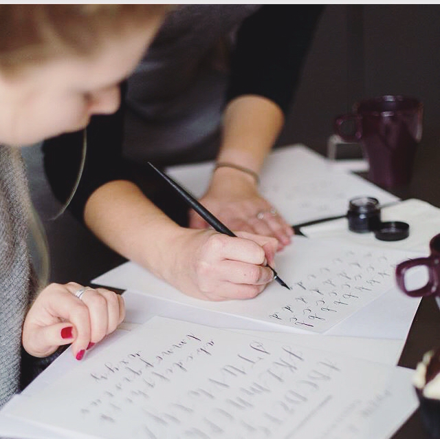 Merrie & Bright: Modern Calligraphy