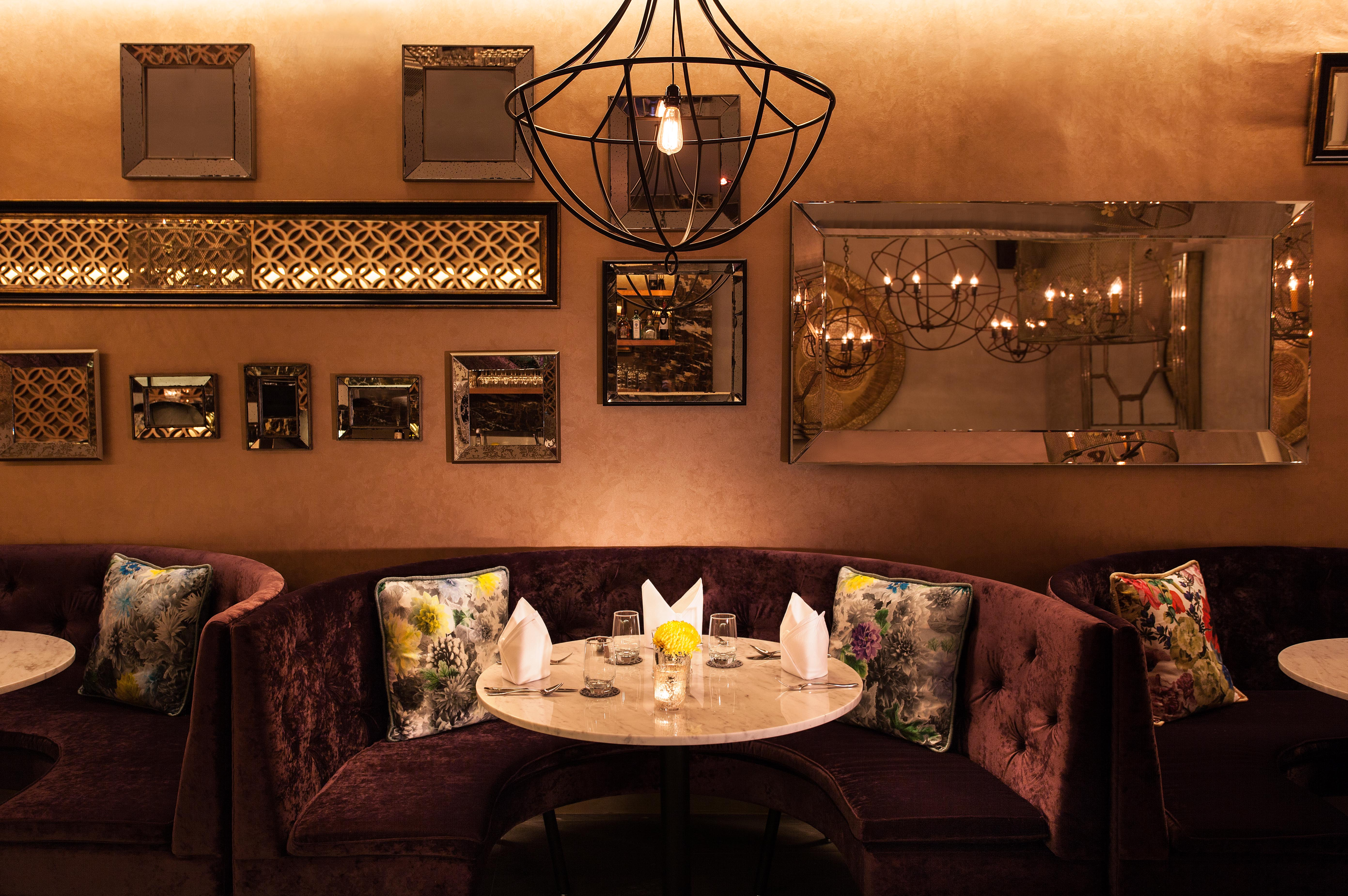 D'Belle Restaurant Interior