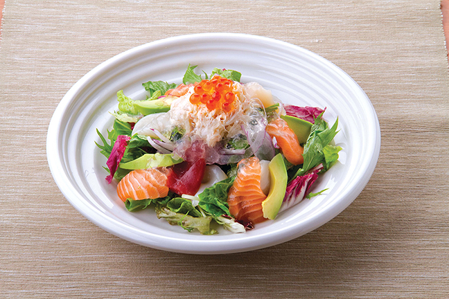 Avocado and Seafood Salad with Hyaluronic acid Jelly.jpg