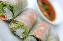 Fresh Rice Paper Roll