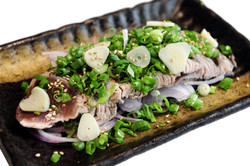Bonito Fish Cooked in Hay Straw