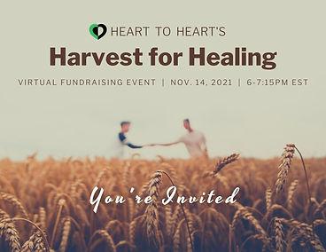 Harvest for Hunger Virtual Fundraising Postcard