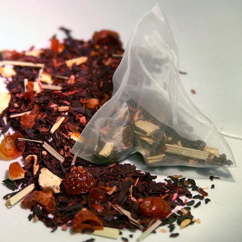Strawberry Hibiscus Tea Bags (50 count)