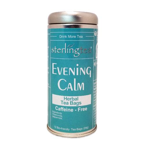 Evening Calm Tea Bag Tins (case of 12)