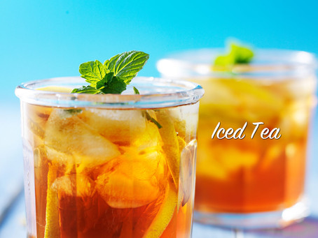 Cold Brew Iced Tea!