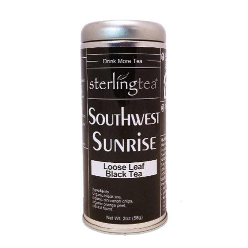 Southwest Sunrise Loose Leaf Tea Tin (12 pack case)