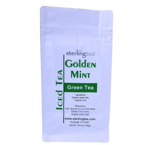 Golden Mint Iced Tea