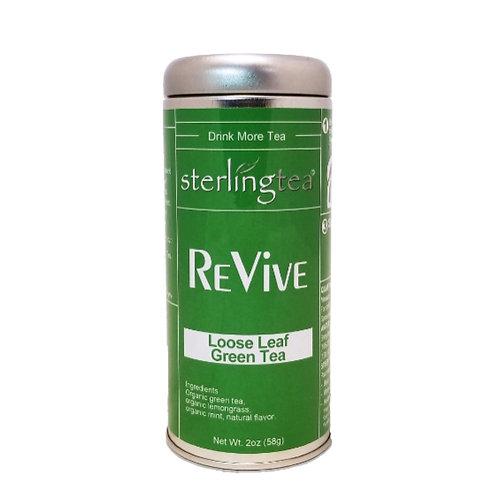 ReVive Loose Leaf Tea Tin (12 pack case)