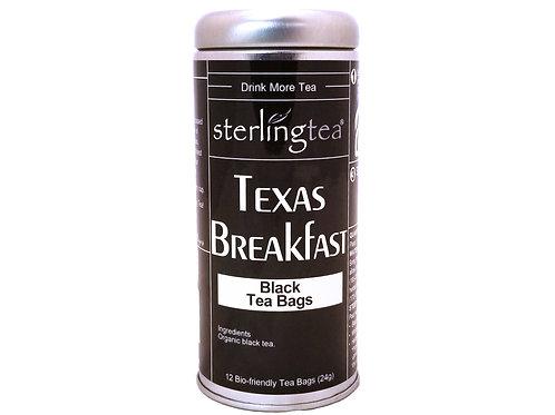 Texas Breakfast Tea Bag Tins (case of 12)