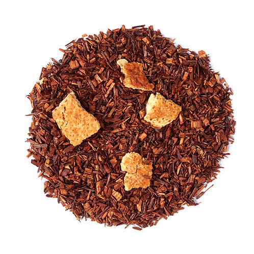 Orange Swirl Rooibos Pyramid Tea Bags (Caffeine Free)