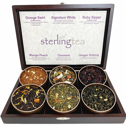 Sterling Choice Exquisite Tea Chest
