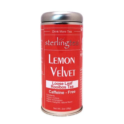 Lemon Velvet Loose Leaf Tea Tin (12 pack case)