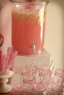 Baby Shower Reveal with Our New Pink Champagne!