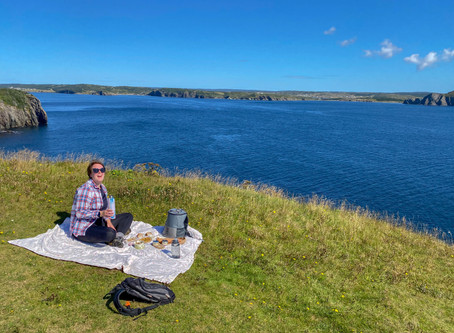 Five Steps to the perfect My Food Hike in Elliston