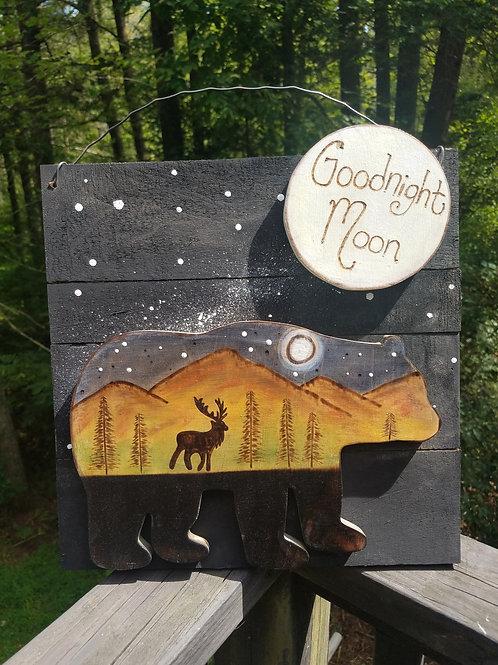 Goodnight Moon Bear unframed