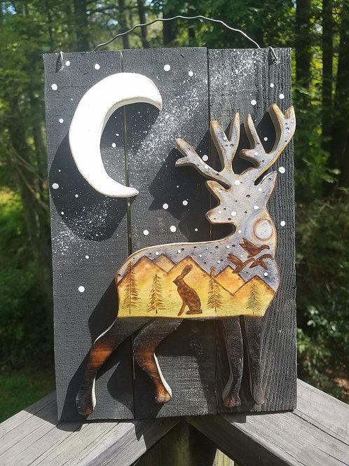 Starry Night Deer