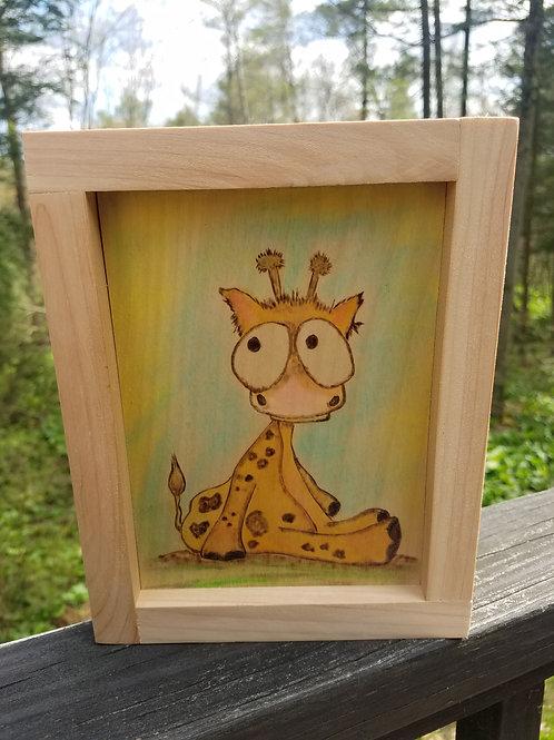 Big Eye Giraffe