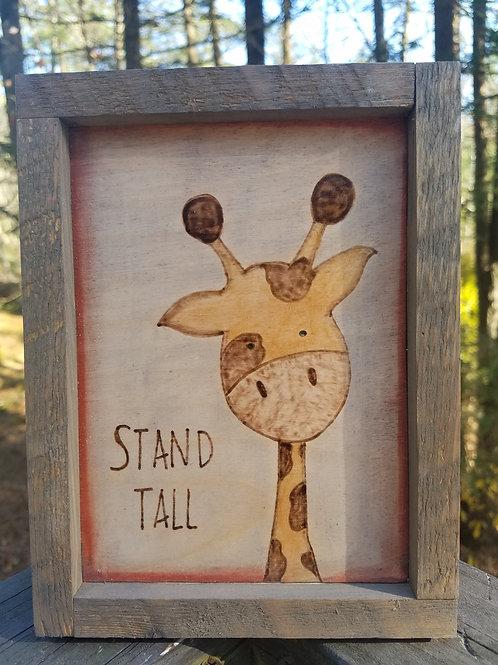 Safari Baby Animals-Giraffe