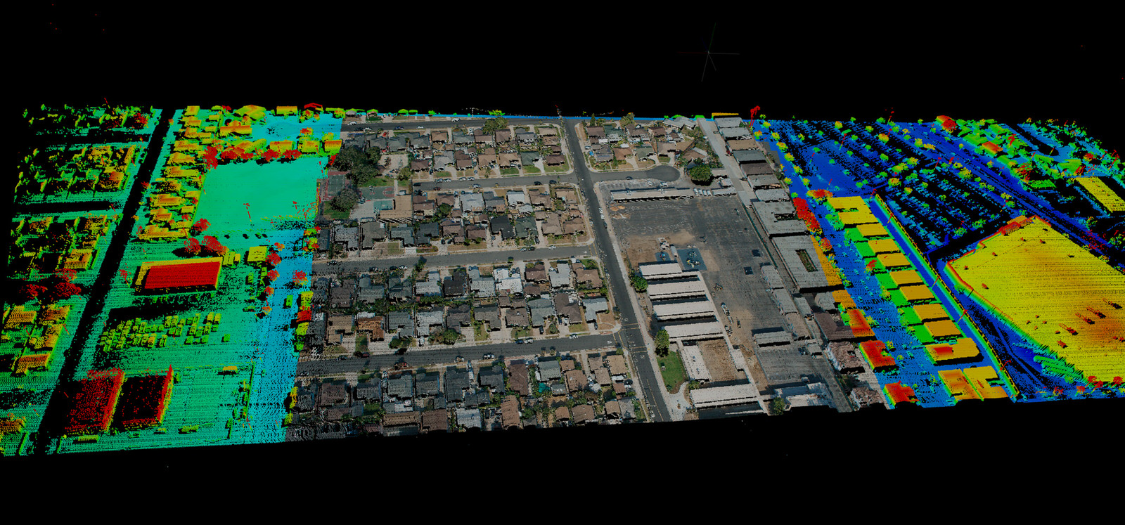 Point Cloud Sample 3 - Phoenix LiDAR Sys
