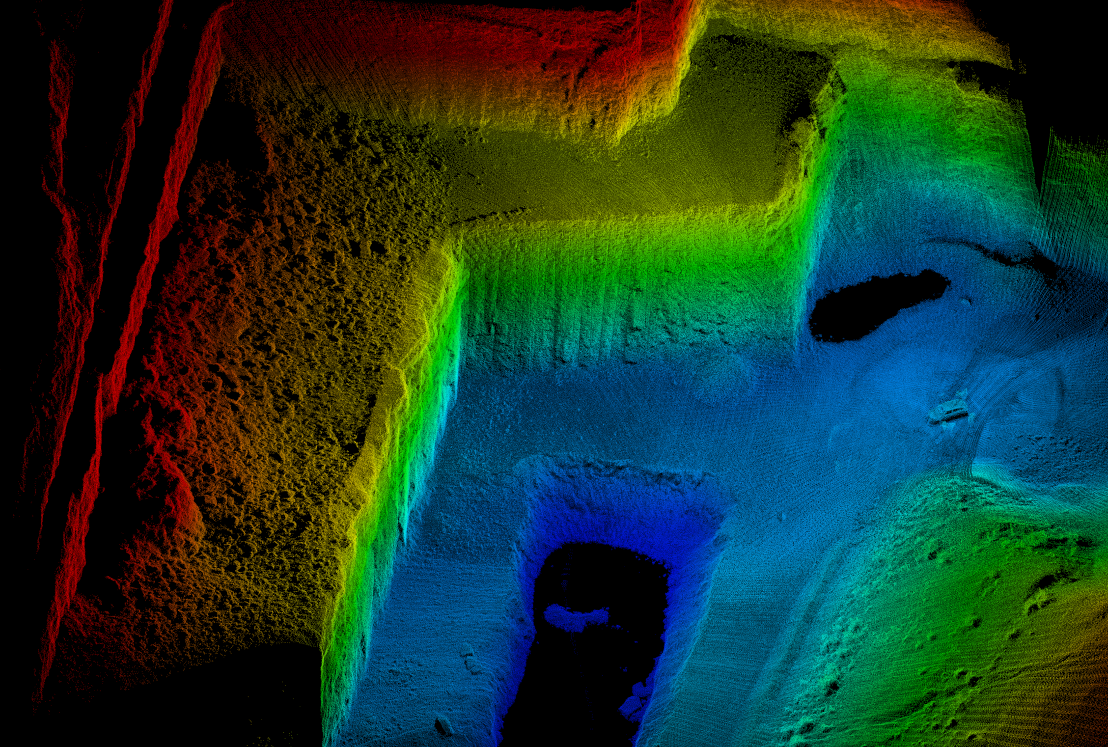 Mining Point Cloud Sample 2 - Phoenix Li