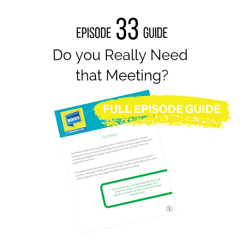 Guide 33: Do You Really Need That Meeting?