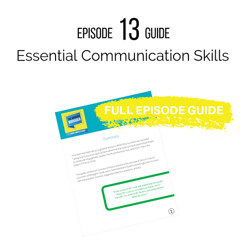 Guide 13: Essential Communication Skills
