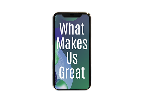 Iphone - WHat makes us great - key featu