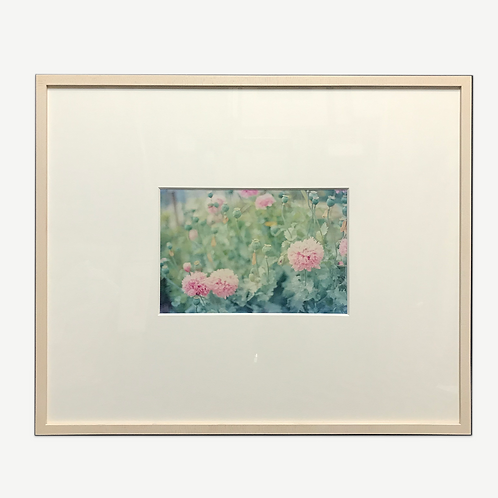 Print in Wooden Frame|Wild Flowers