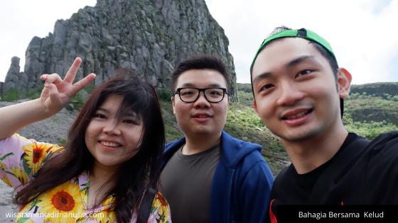 Bahagia Bersama Gunung Kelud